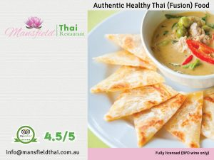 Mansfield Thai restaurant and cafe Authentic Healthy Thai (Fusion) Food